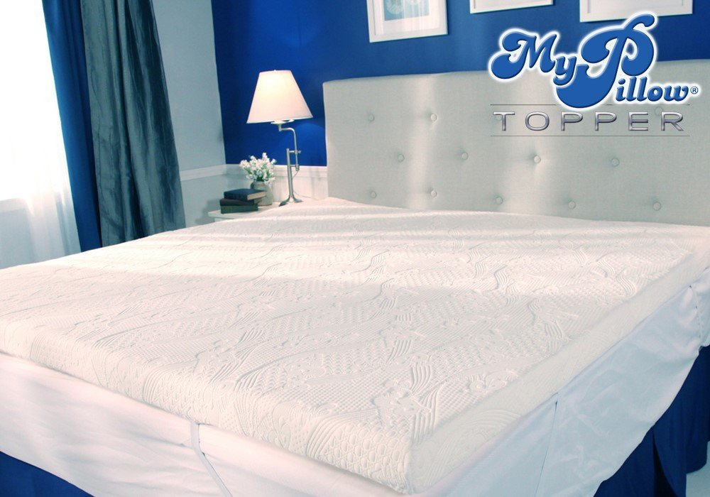 my pillow mattress topper sleeping smart. Black Bedroom Furniture Sets. Home Design Ideas
